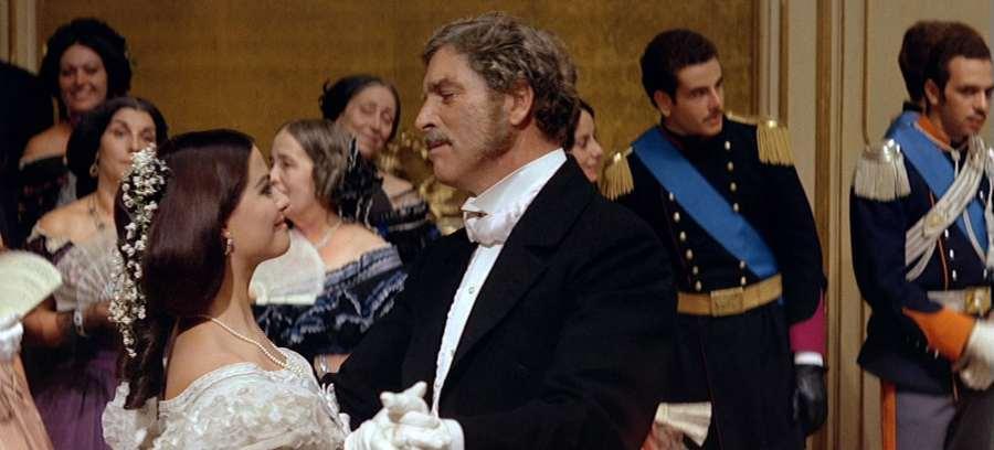 """Burt Lancaster y Claudia Cardinale en la película """"El gatopardo"""""""
