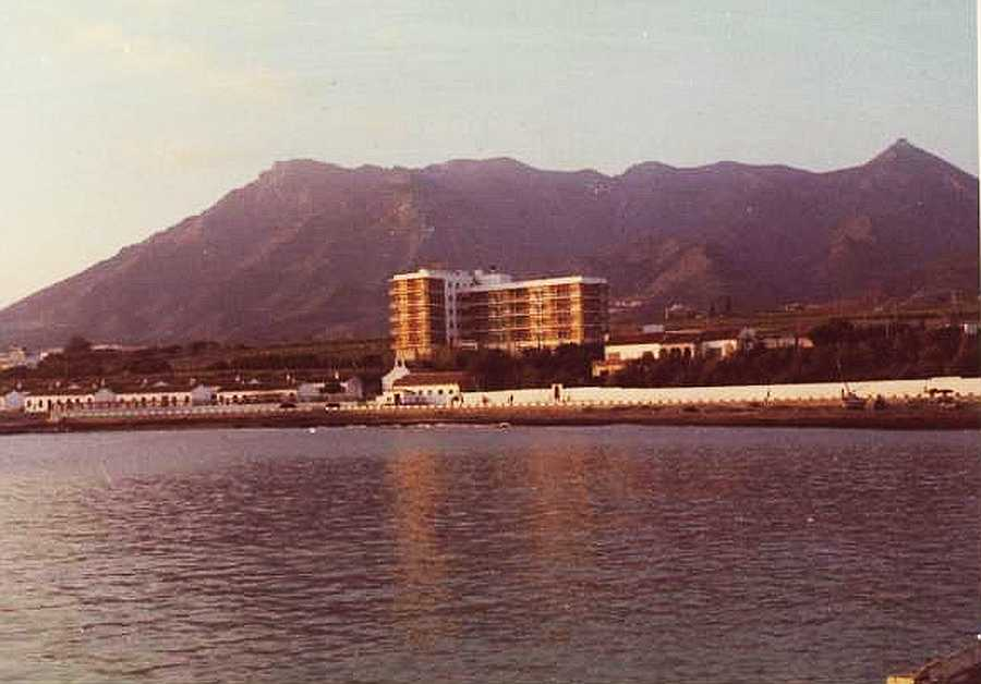 Imagen del Hotel Bellamar en marzo de 1964