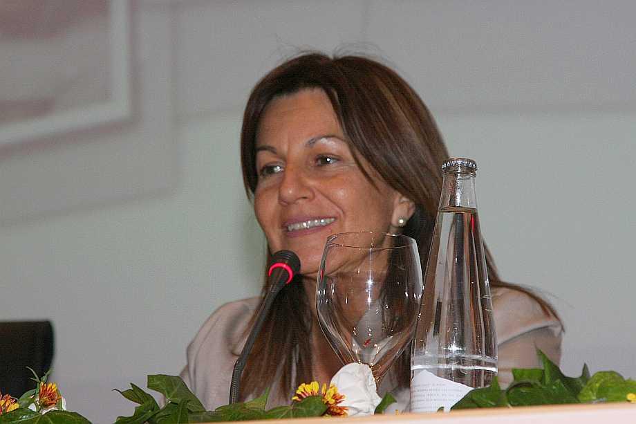 Dª Cristina Guerreo, Directora Pedagógica de La Cónsula y protagonista indispensable de los mayores días de gloria de la Escuela.