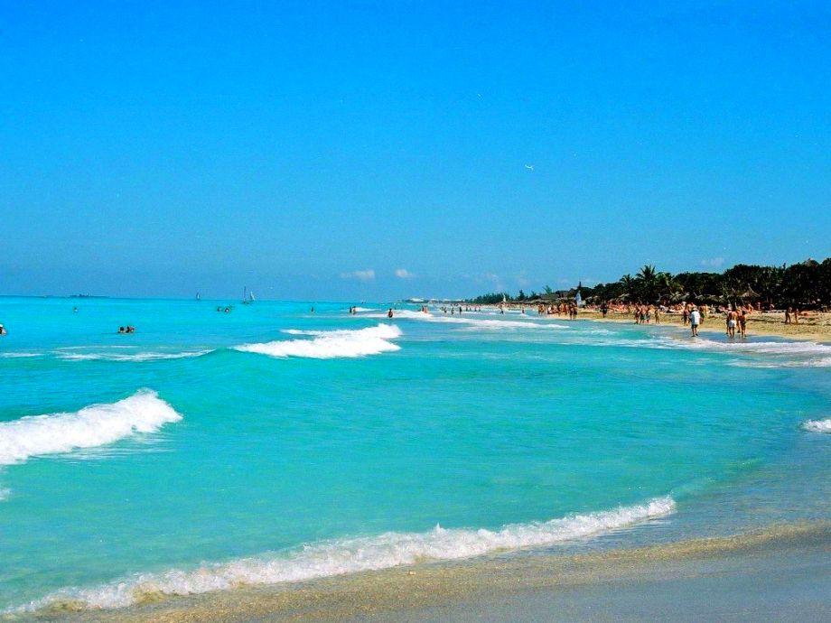 Una de las maravillosas playas de Cuba.